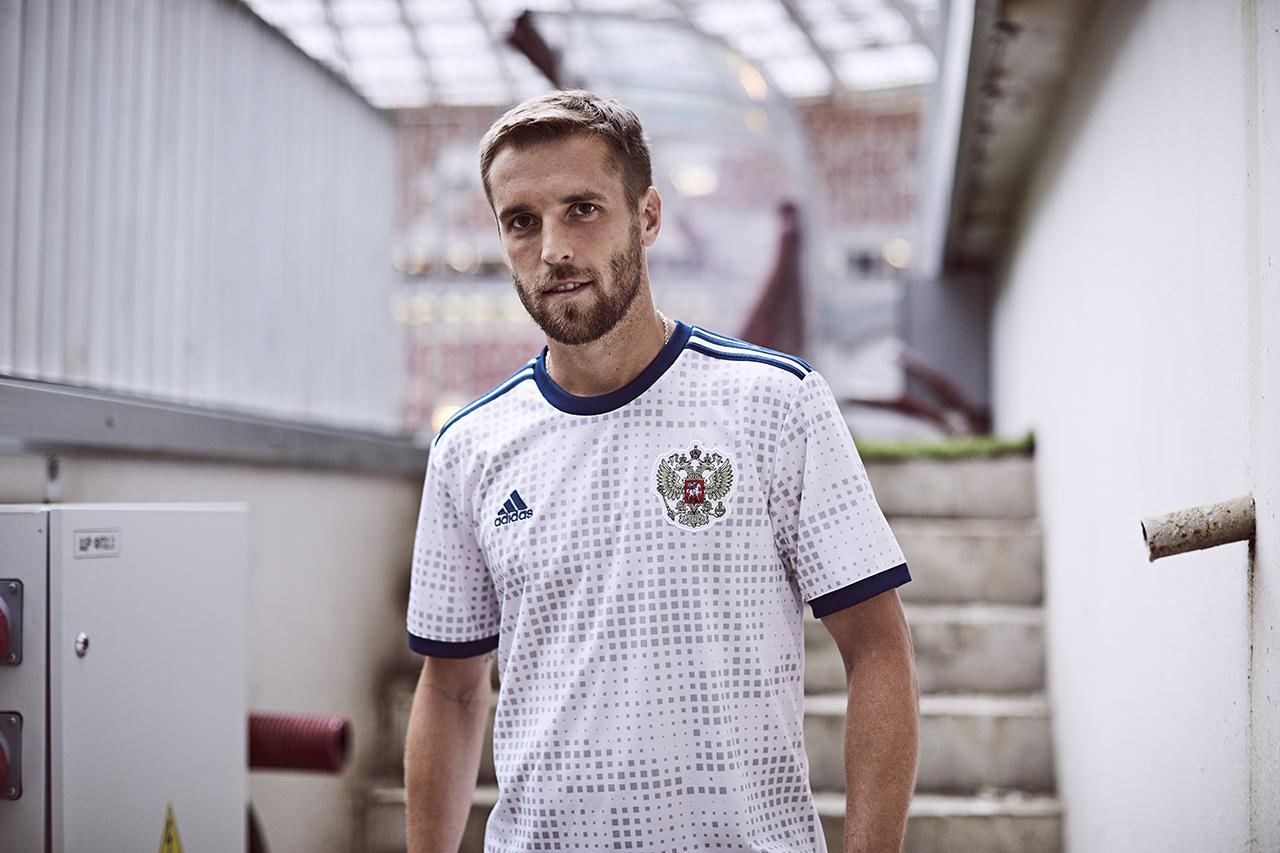 56931ebc3 Segunda camisa das seleções da Adidas para Copa de 2018. Confira!