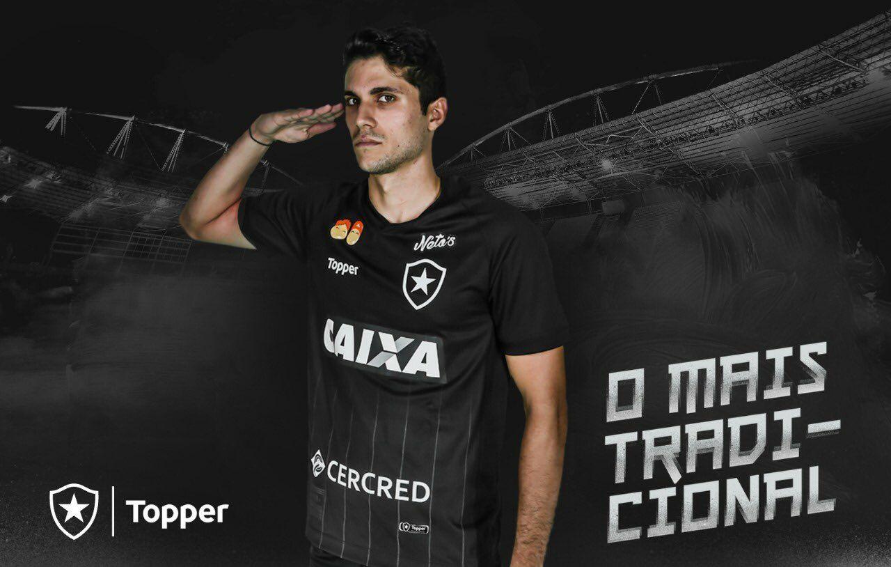 65147410086b7 As novas camisas do Botafogo para temporada 2018-19