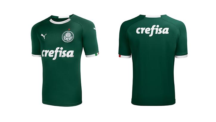 Lançamento da coleção das camisas oficiais do Palmeiras Puma 2019 d87ec76acbab4