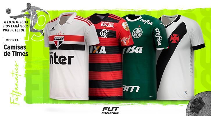 dc2afb6d5 Camisas de Futebol dos Principais Clubes Brasileiros - FutFanatics
