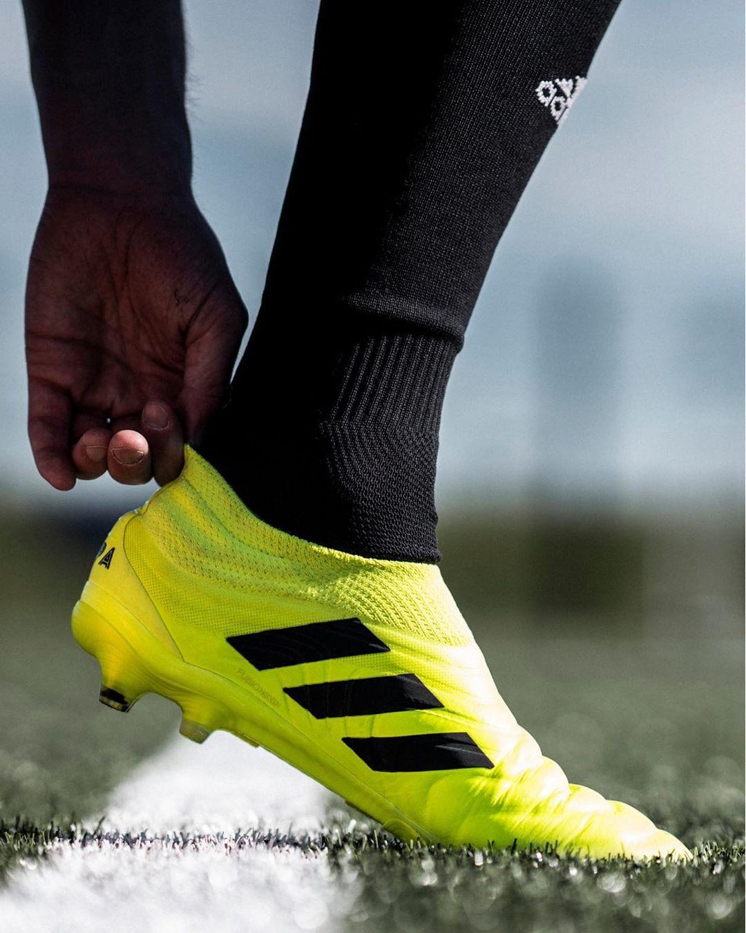 A Copa faz parte do novo pack de chuteiras da Adidas