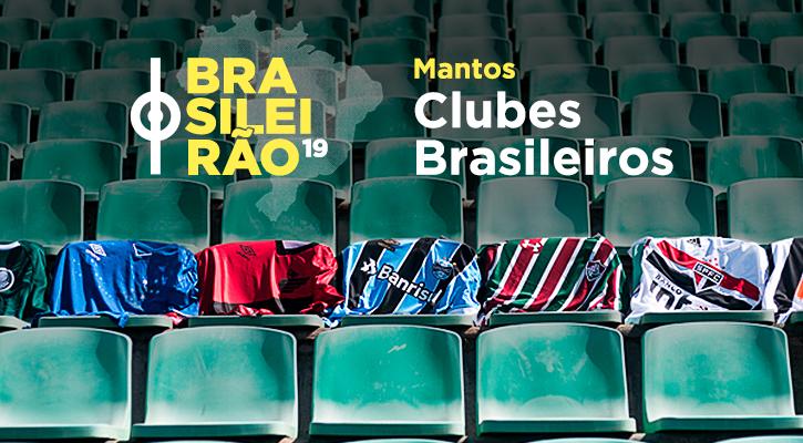 Camisas oficiais de Clubes Brasileiros