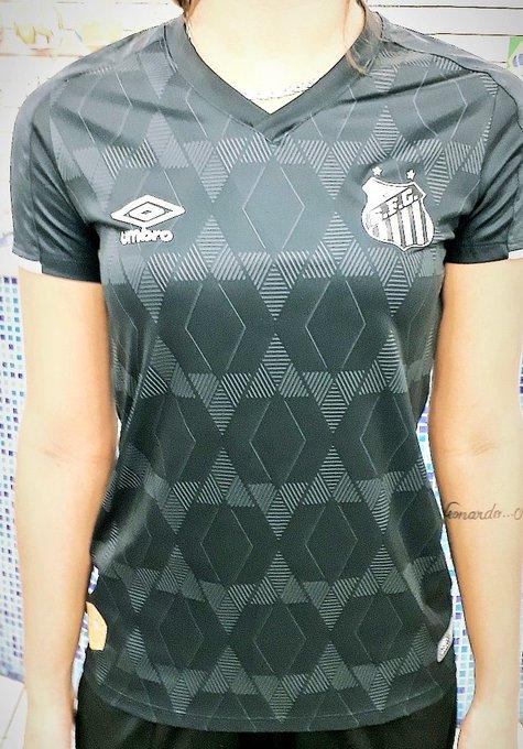 Nova camisa 3 do Santos feminina