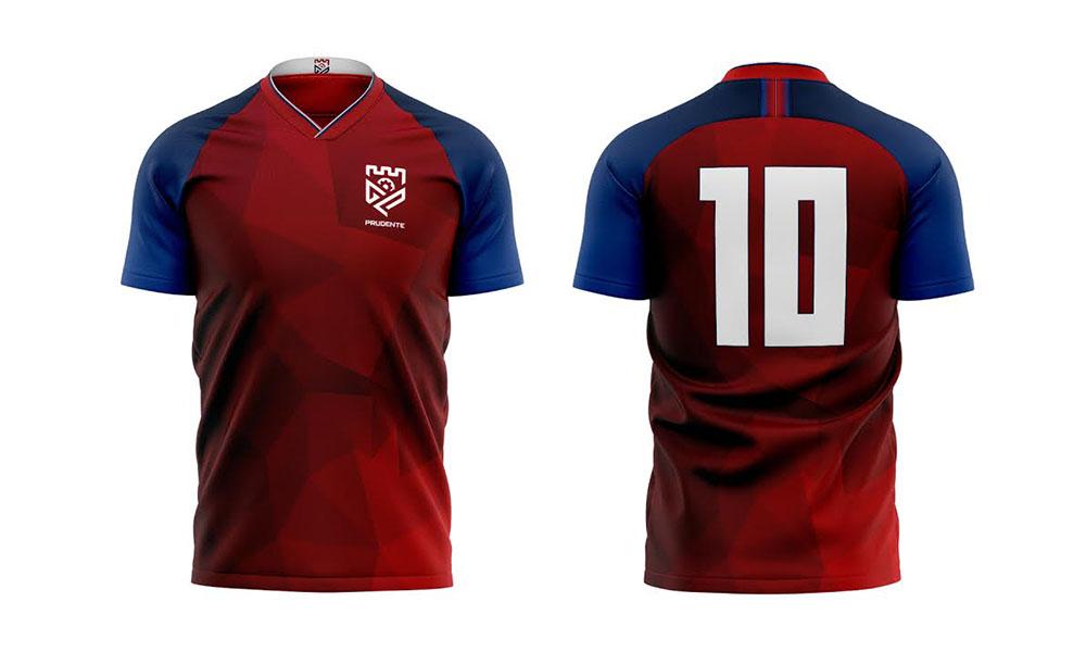 Nova camisa principal do Grêmio Prudente