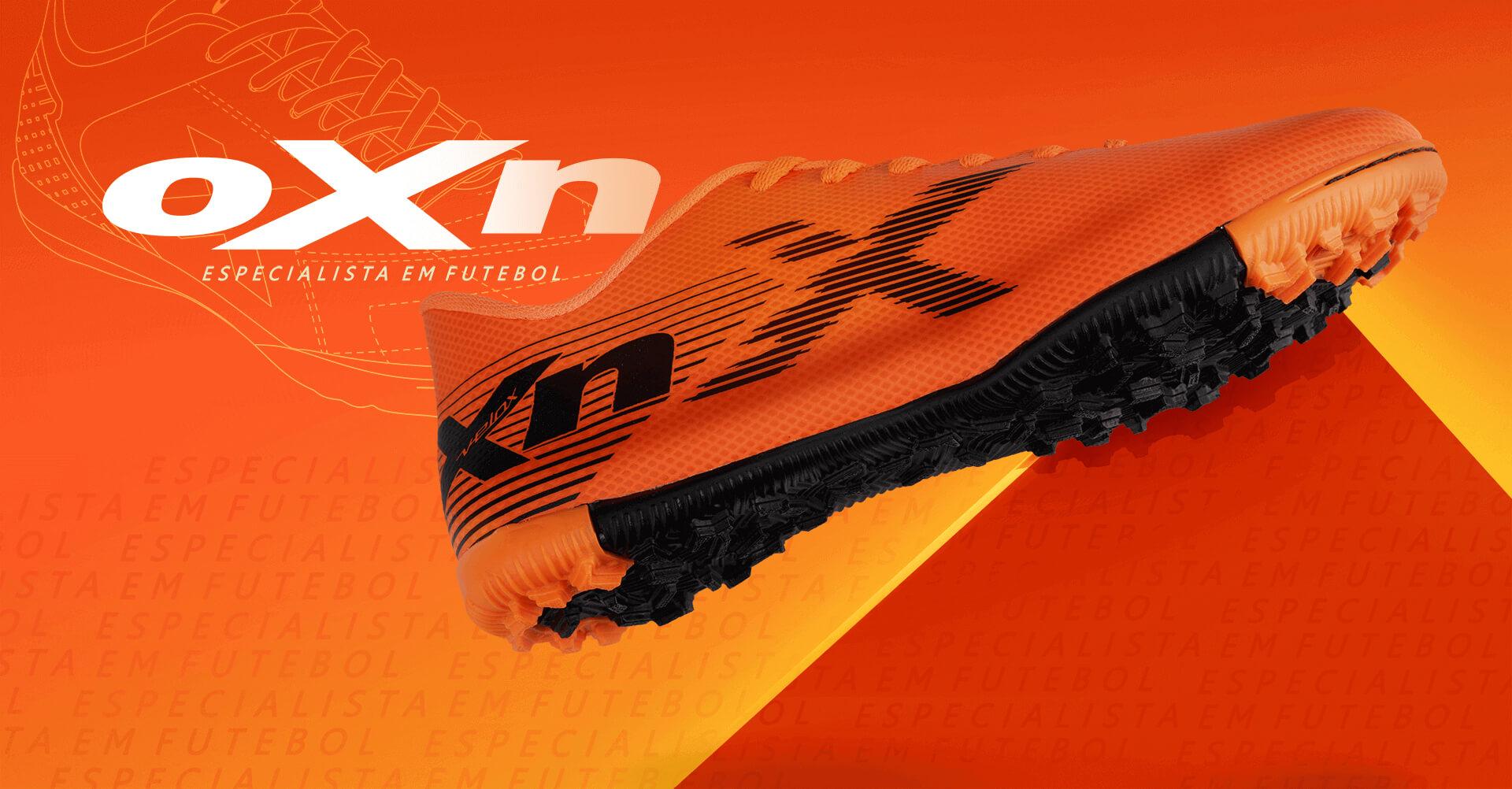 Chuteira Velox da marca OXN