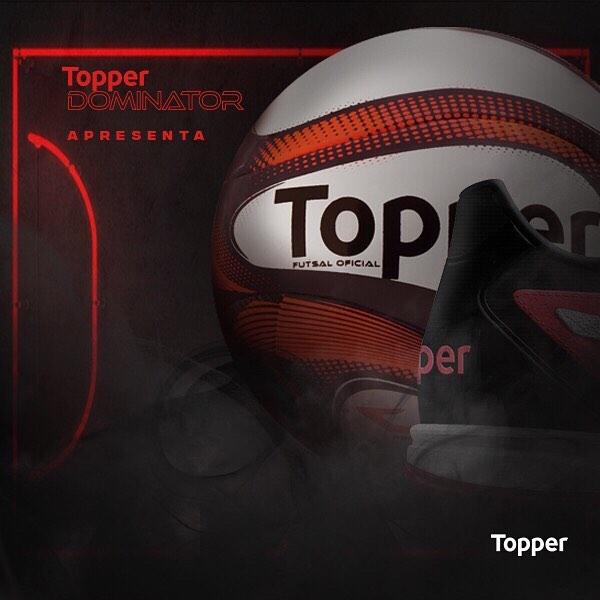 As bolas da Topper são muito conhecidas no futsal
