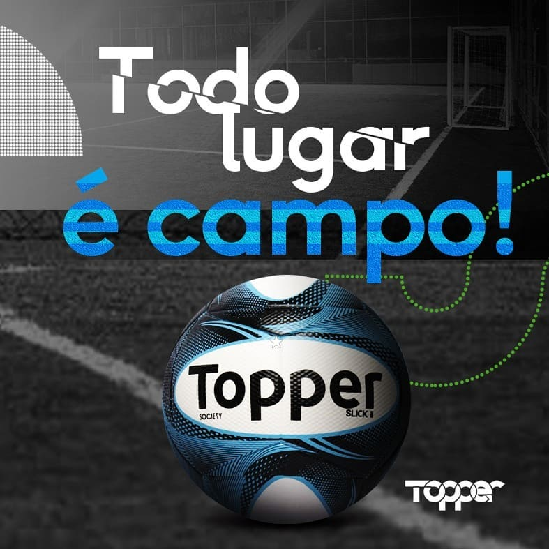Bolas baratas de futebol society da Topper