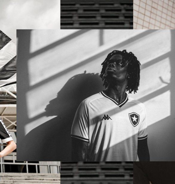 A nova camisa 3 do Botafogo é inspirada no coração