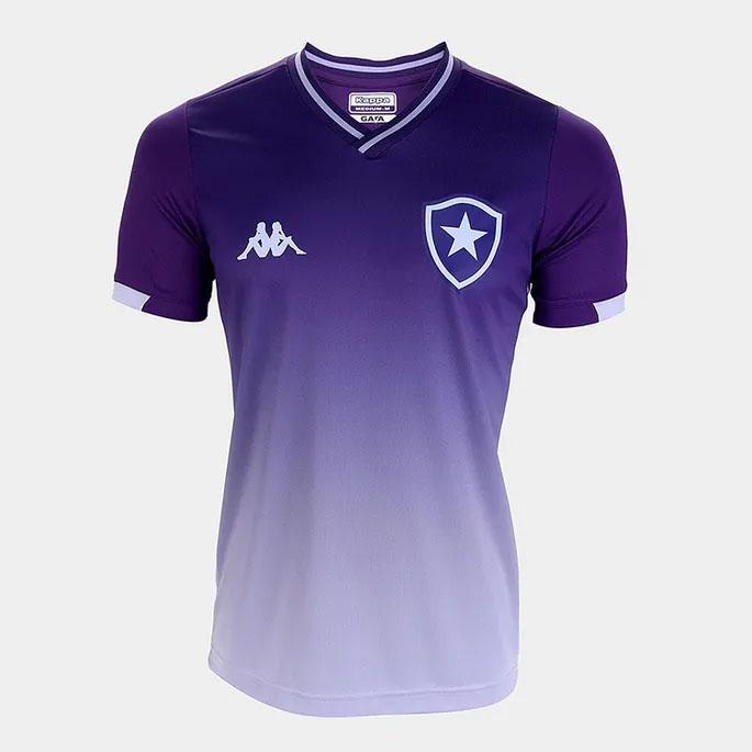 A nova camisa do Botafogo para os goleiros é roxa