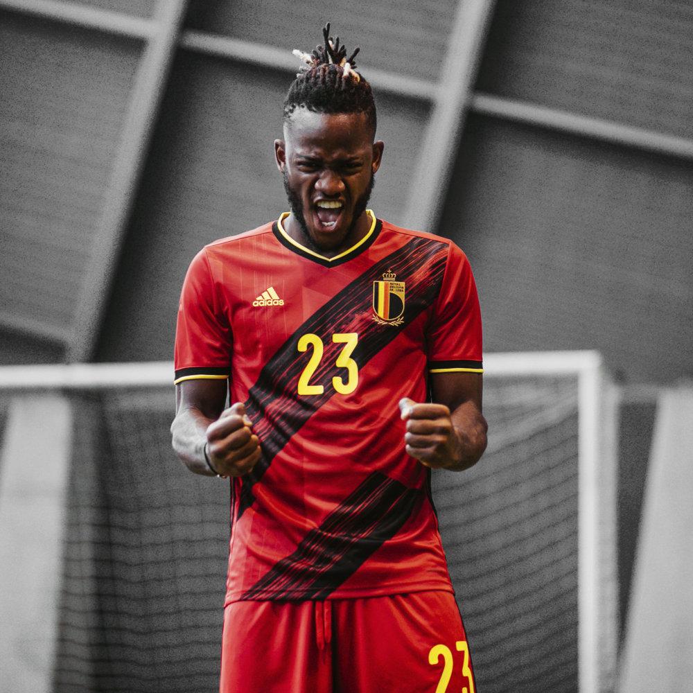 Camisa da Bélgica Adidas Euro 2020