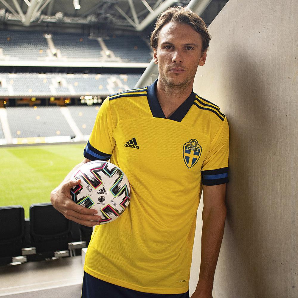 Camisa da Suécia Adidas Euro 2020