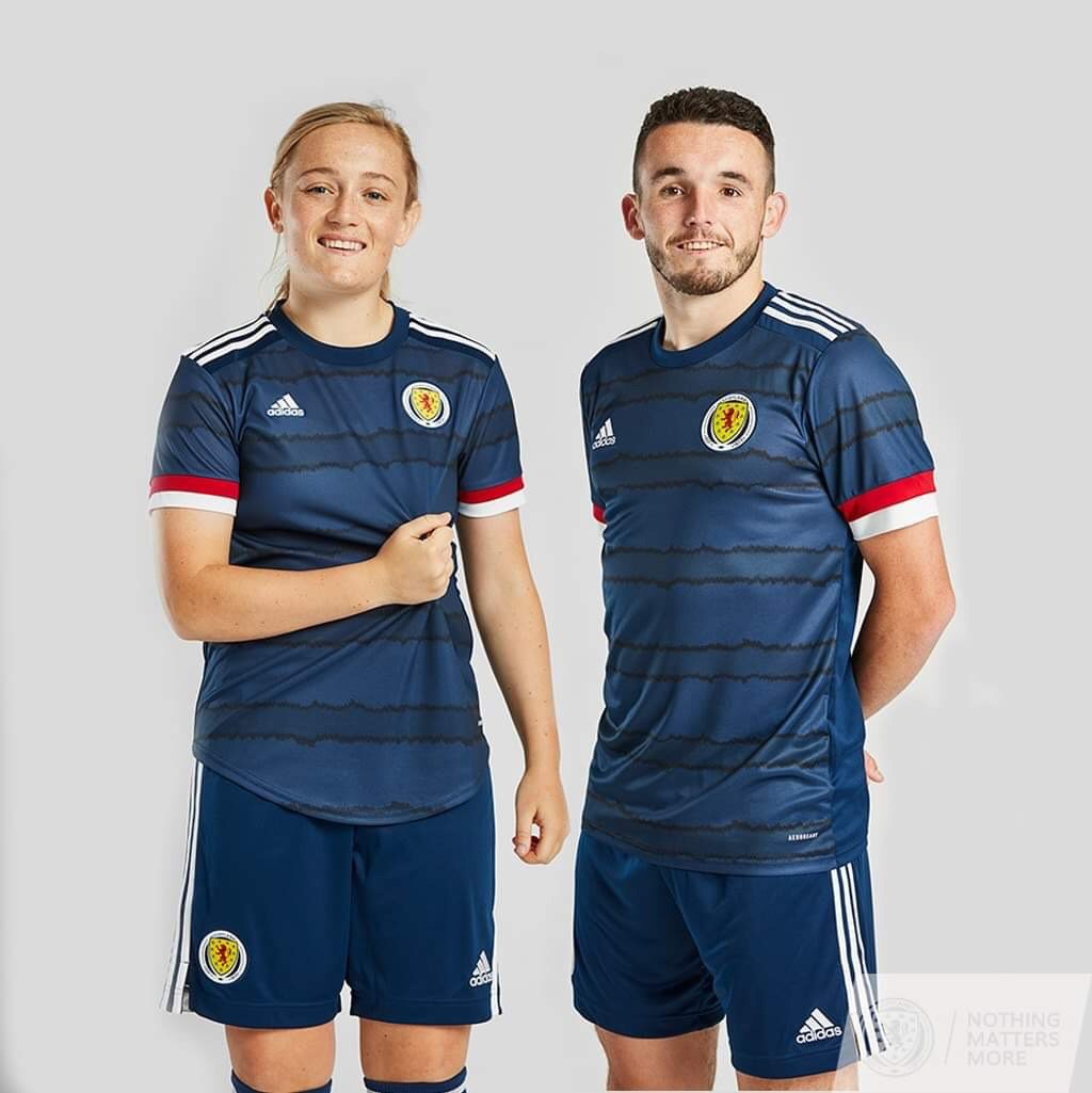 Camisa da Escócia Adidas Euro 2020