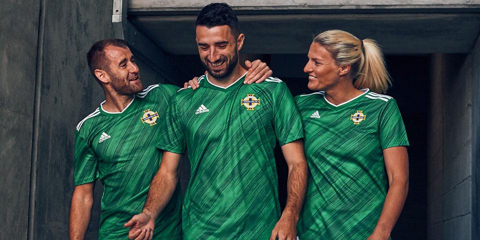 Camisa da Irlanda do Norte Adidas Euro 2020
