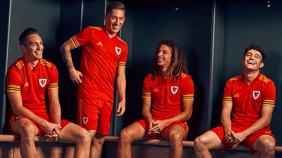 Camisa de País de Gales Adidas Euro 2020