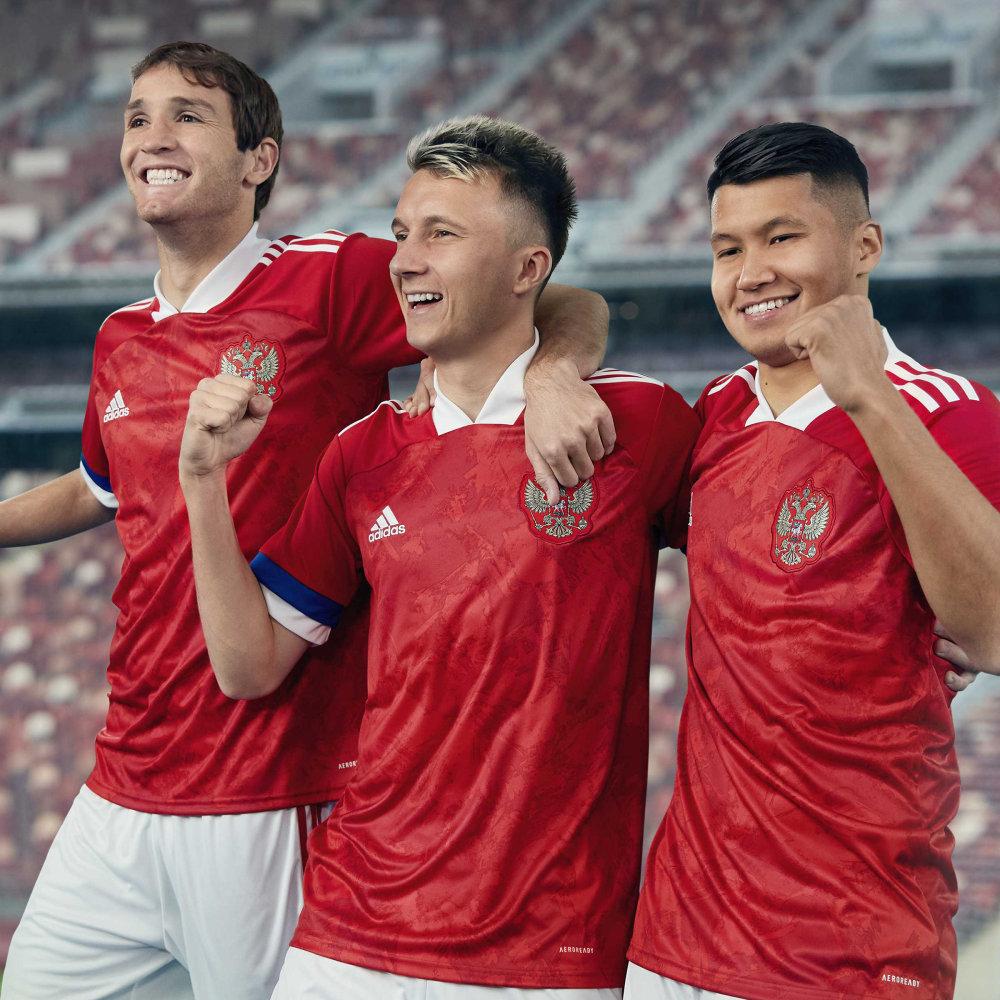 Camisa da Rússia Adidas Euro 2020