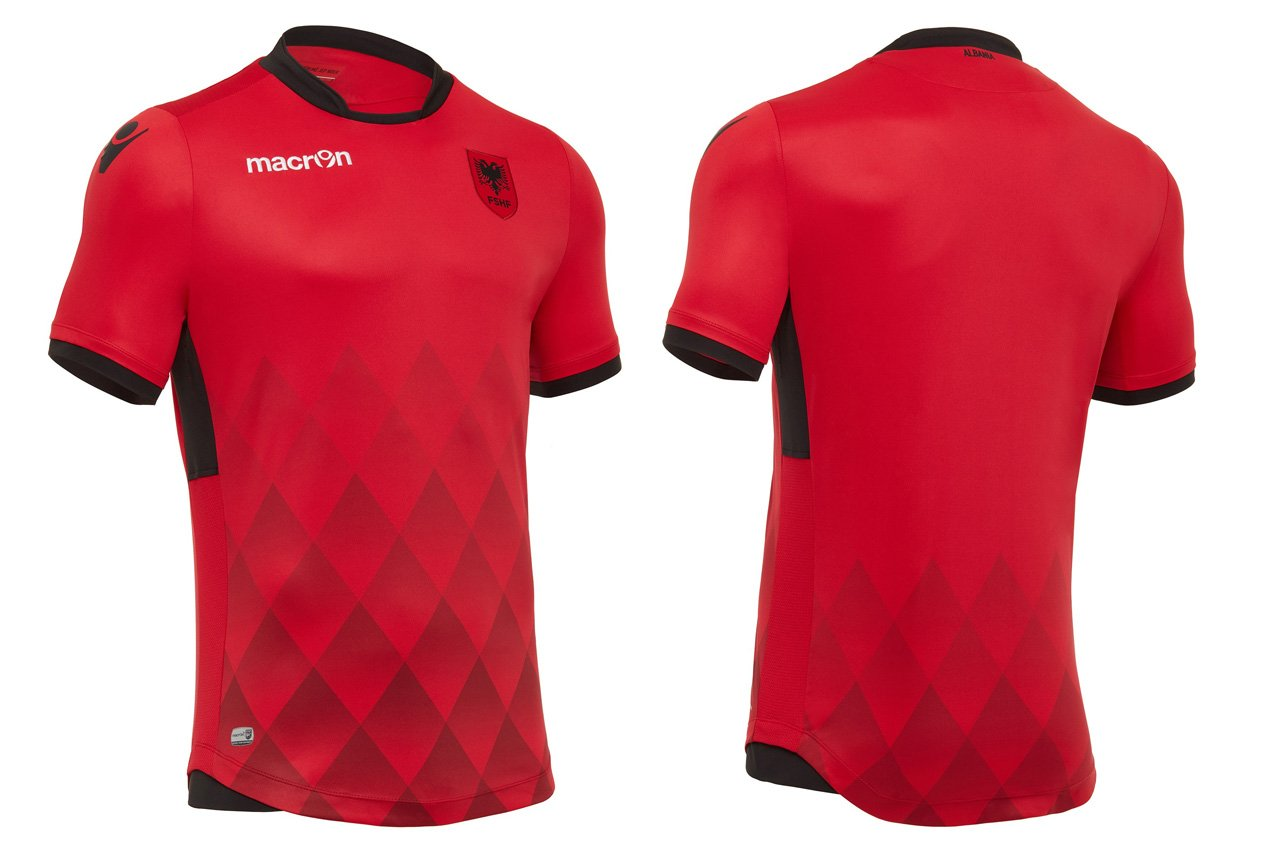 Camisas de times em promoção: Albânia