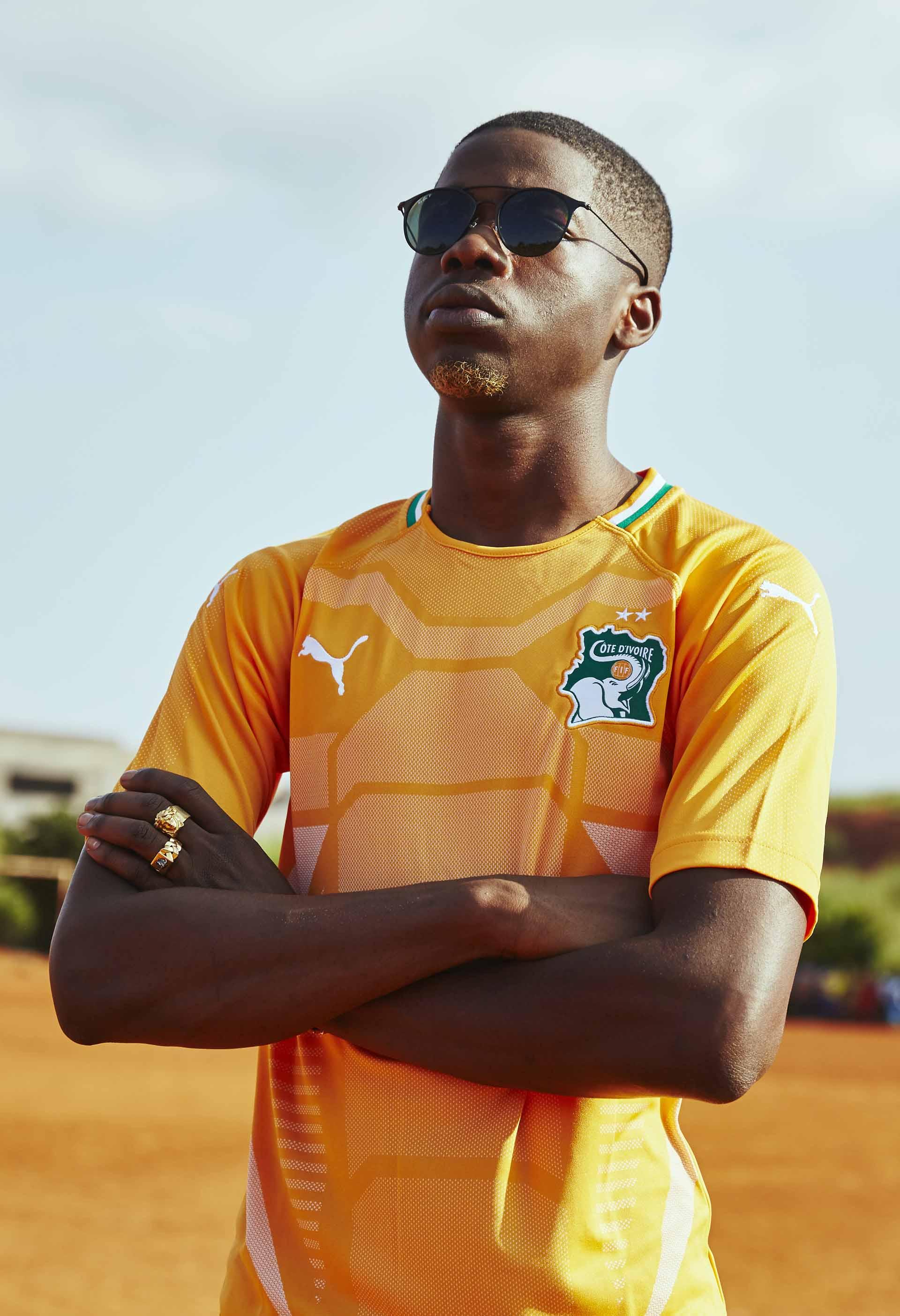 Camisas de times em promoção: Costa do Marfim
