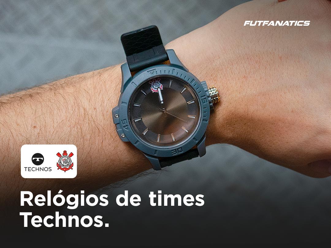 Moda futebol: relógios