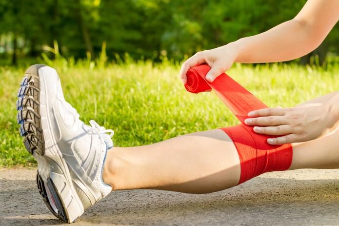 Como usar joelheira elástica
