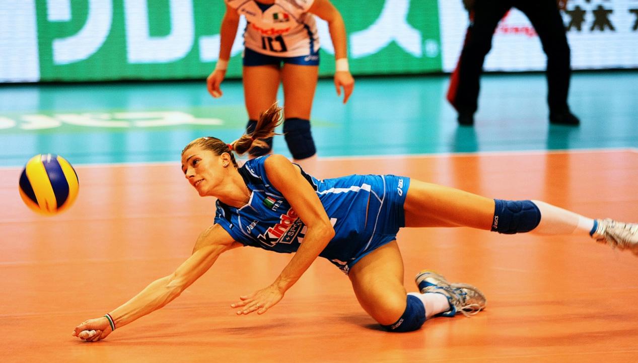 Como usar joelheira para vôlei