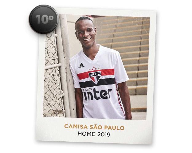 Camisas de futebol mais bonitas de 2019: São Paulo