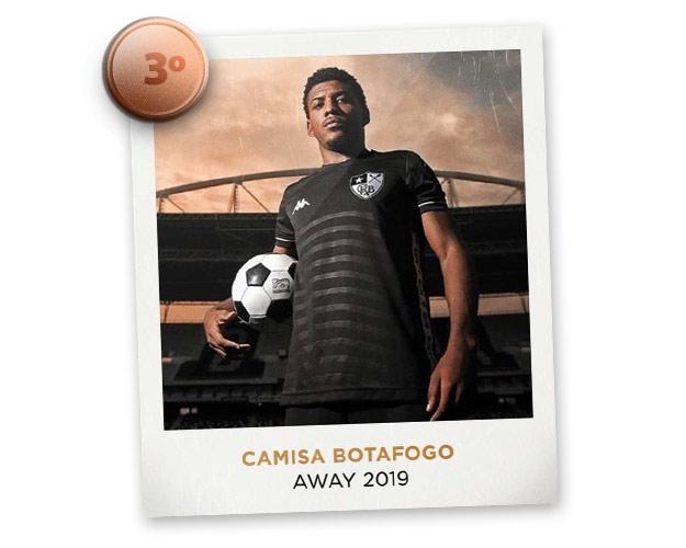Camisas de futebol mais bonitas de 2019: Botafogo