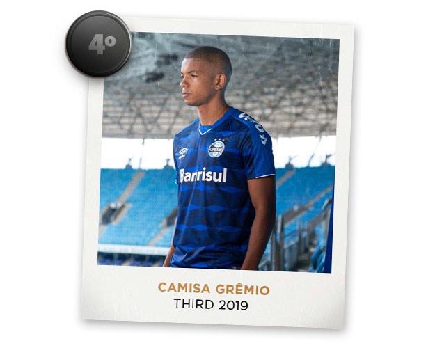 Camisas de futebol mais bonitas de 2019: Grêmio