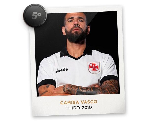 Camisas de futebol mais bonitas de 2019: Vasco