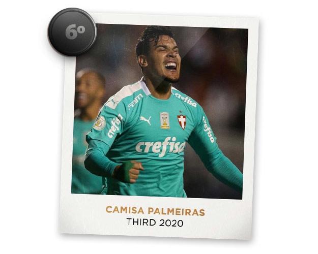 Camisas de futebol mais bonitas de 2019: Palmeiras