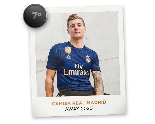 Camisas de futebol mais bonitas de 2019: Real Madrid