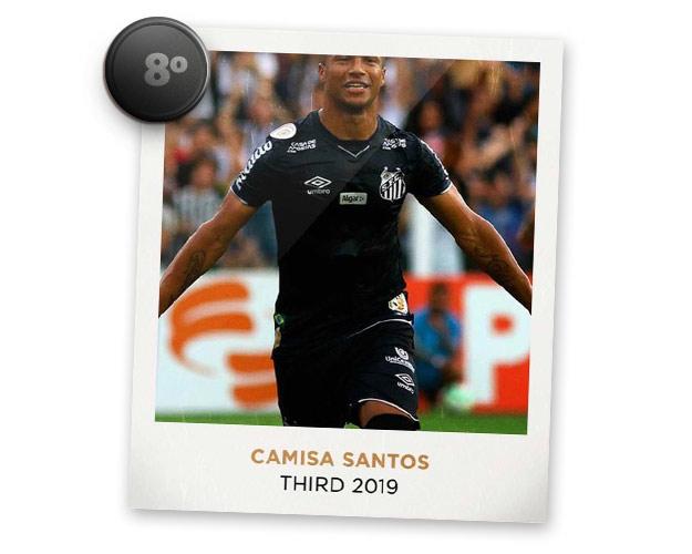 Camisas de futebol mais bonitas de 2019: Santos