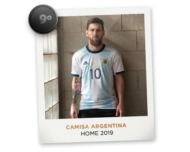 Camisas de futebol mais bonitas de 2019: Argentina