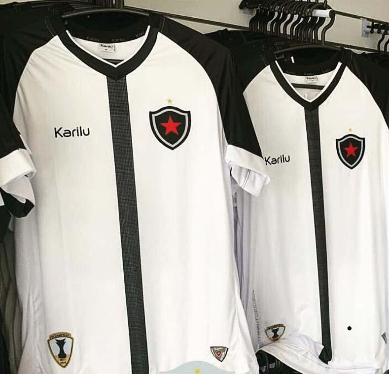 Camisas raras de futebol: Botafogo-PB