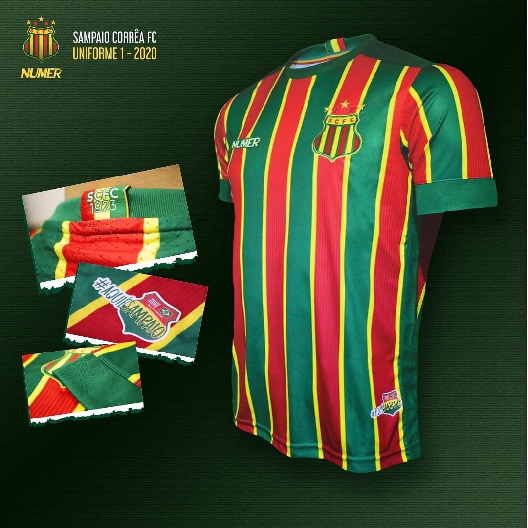 Camisas raras de futebol: Sampaio Corrêa