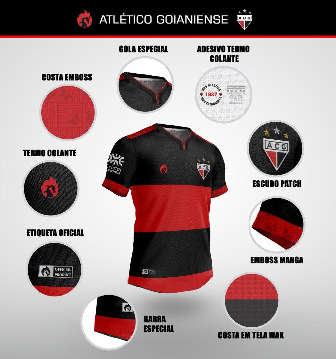Camisas de futebol raras: Atlético-GO