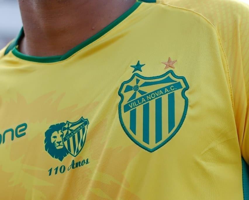 Camisas de futebol raras: Villa Nova