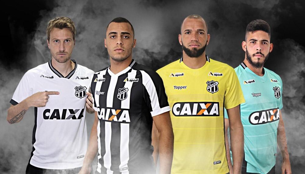 Camisas raras de futebol: Ceará