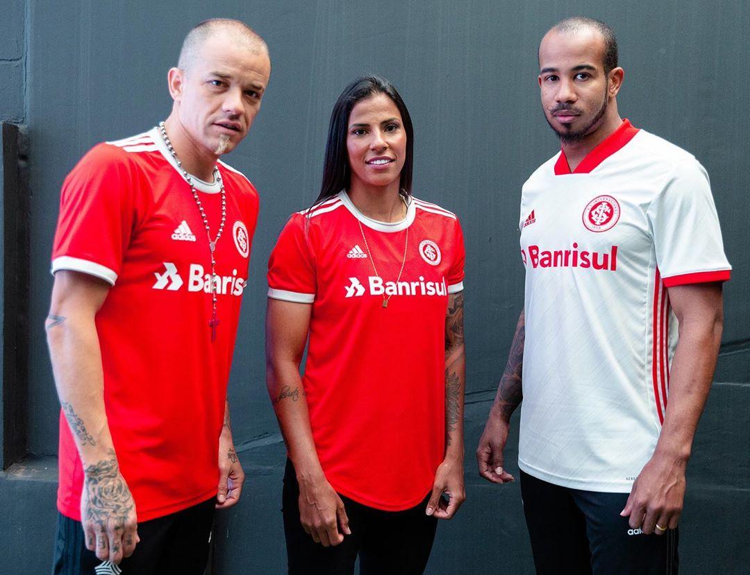 Nova camisa do Inter principal e reserva