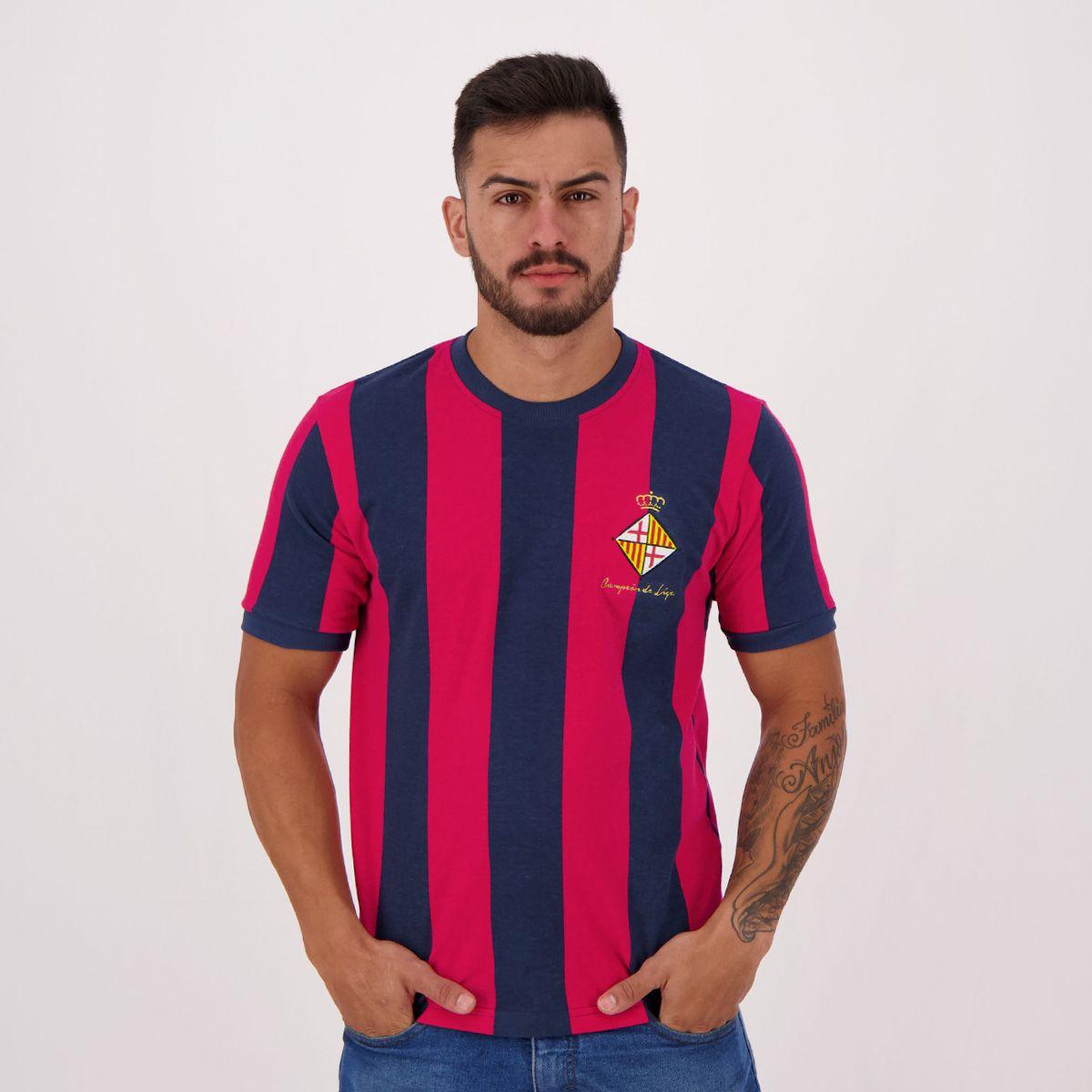 Camisas retrô futebol: Barcelona