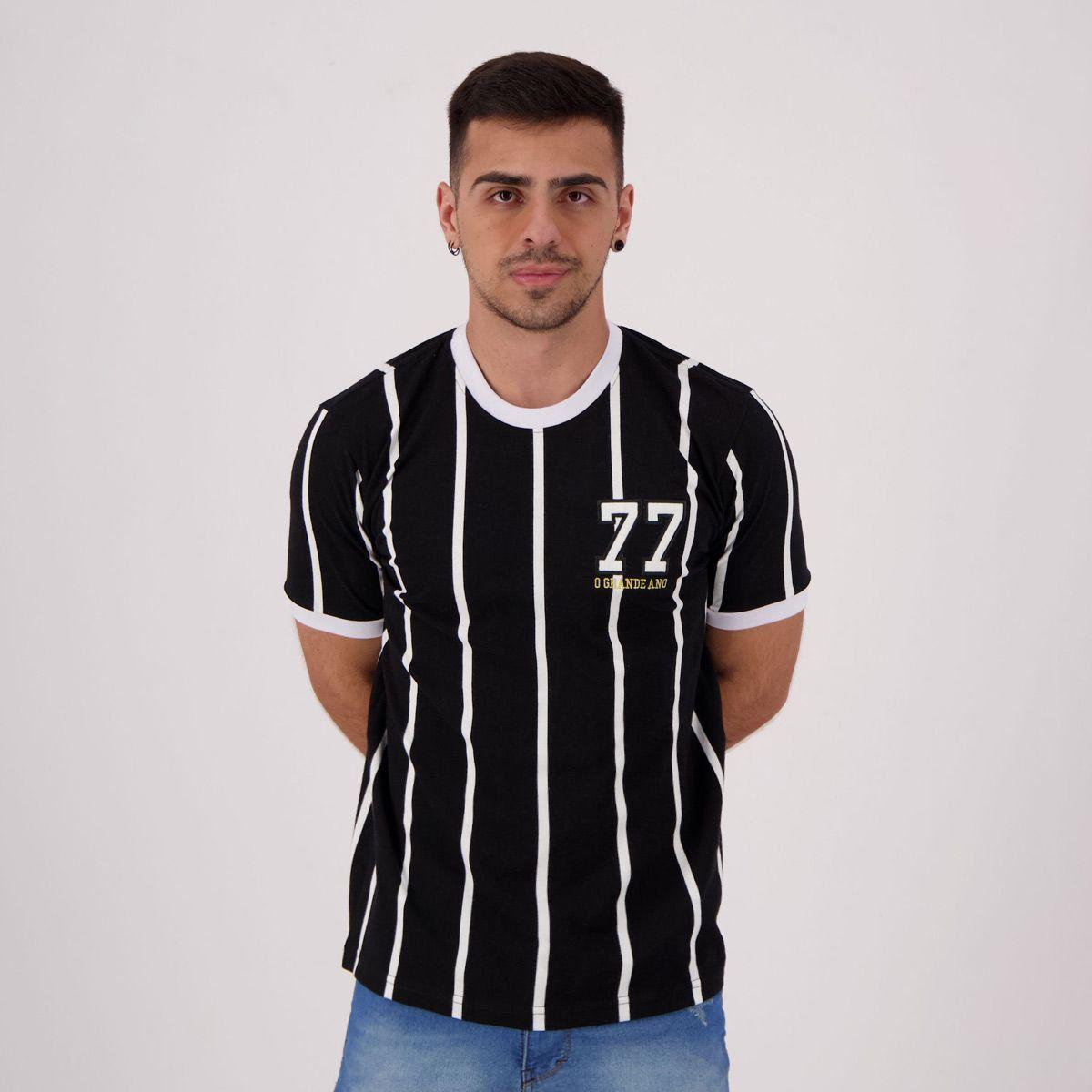 Camisas retrô futebol: Corinthians