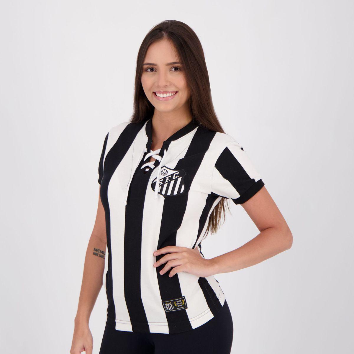 Camisas retrô futebol: Santos