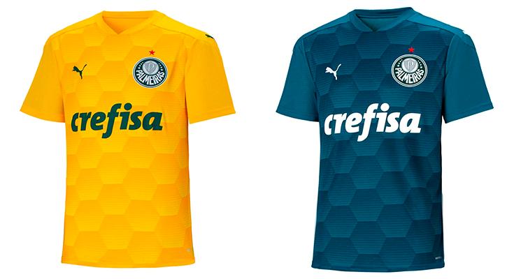 Nova camisa do Palmeiras: kits goleiro