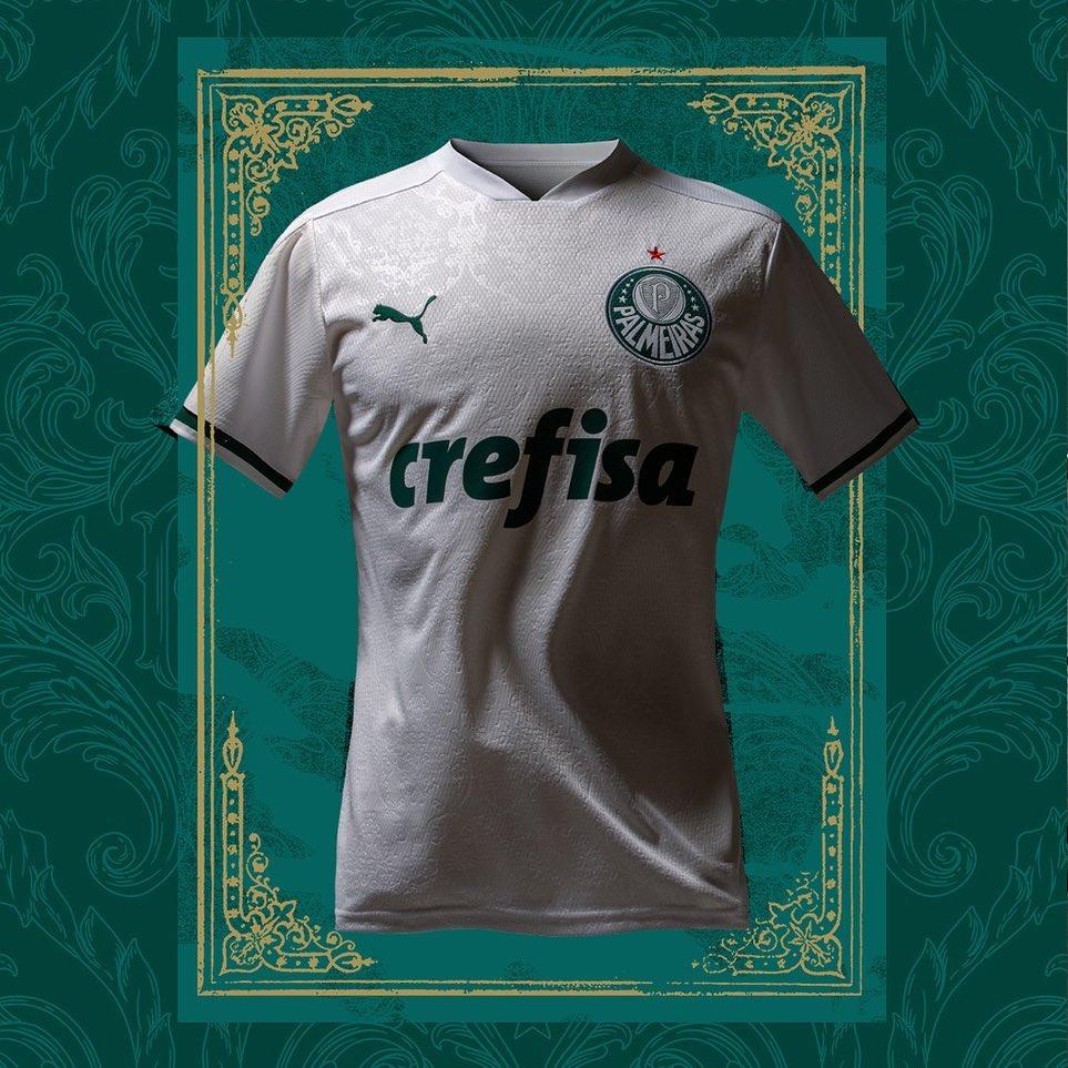 Nova camisa do Palmeiras, manto reserva