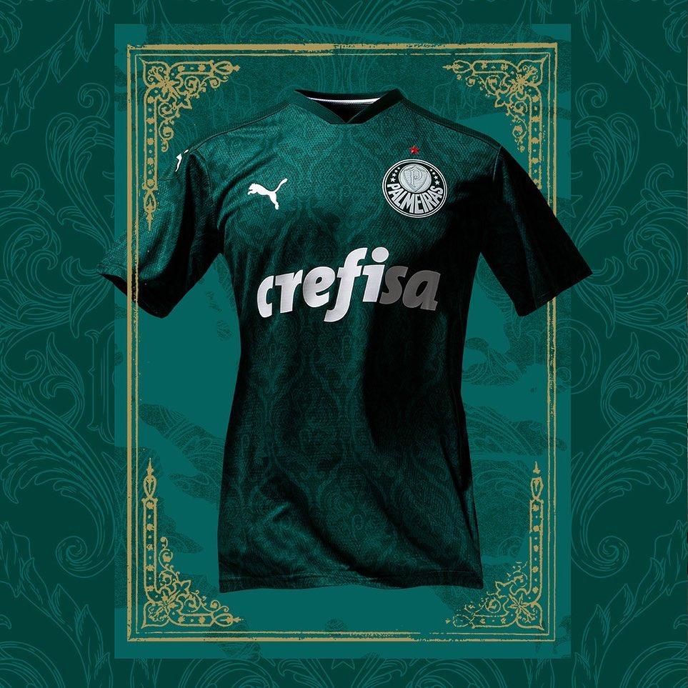 Nova camisa do Palmeiras titular