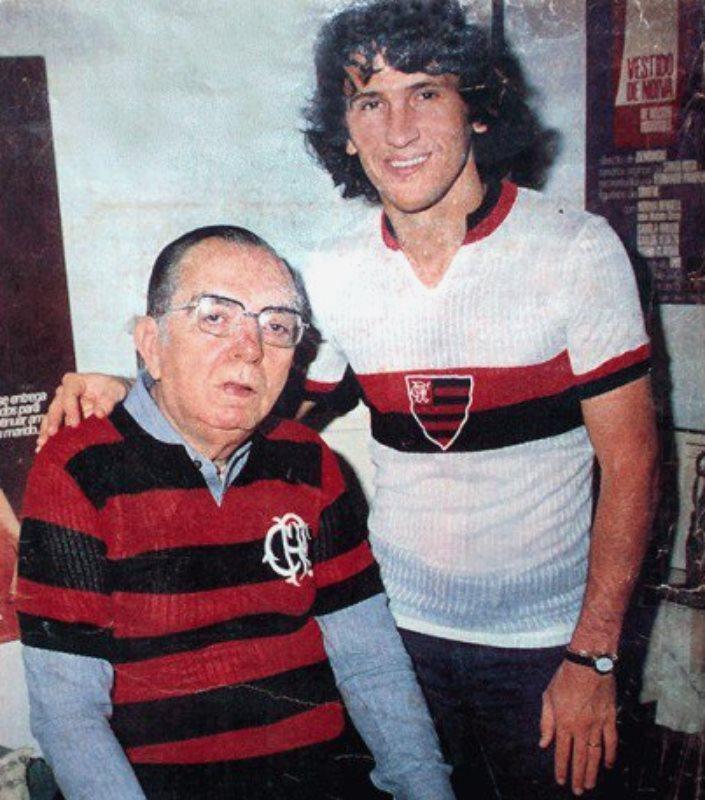 Camisa 2 Flamengo Zico