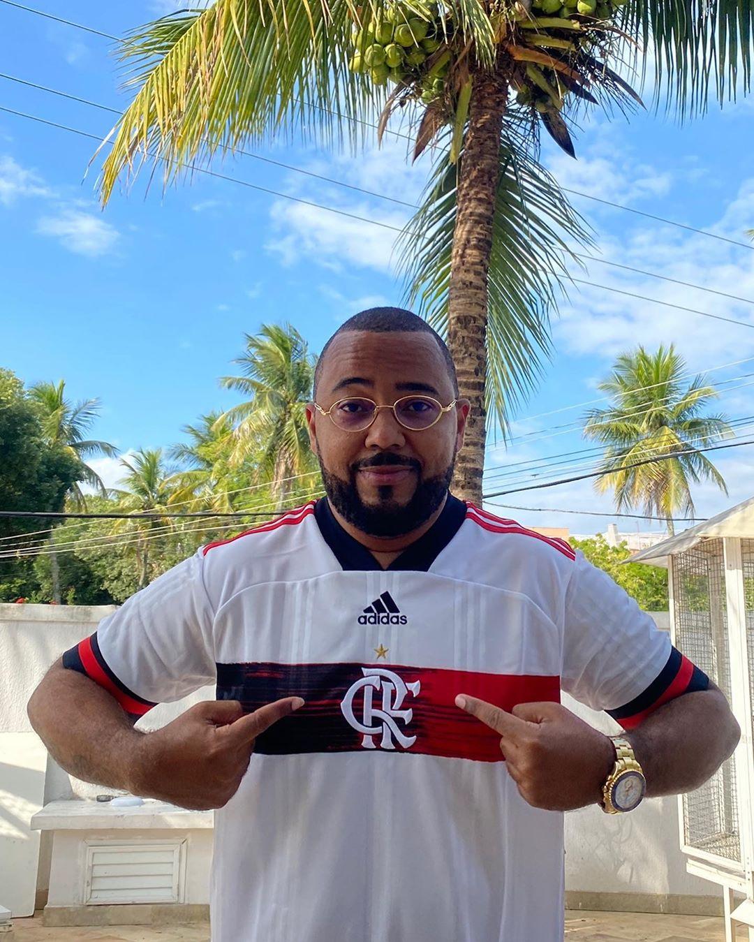 Camisa 2 Flamengo Dudu Nobre