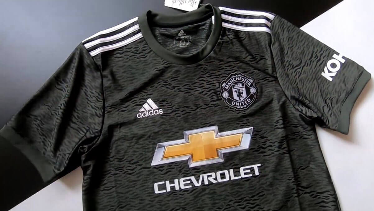 camisa Manchester United 2020 away