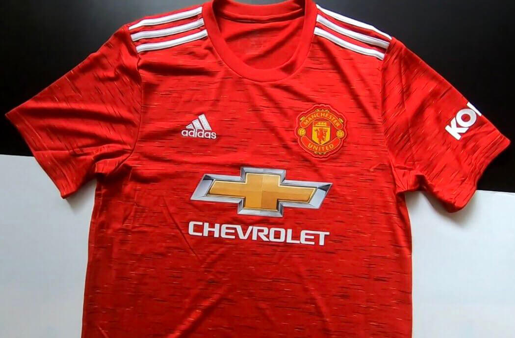 camisa Manchester United 2020 home