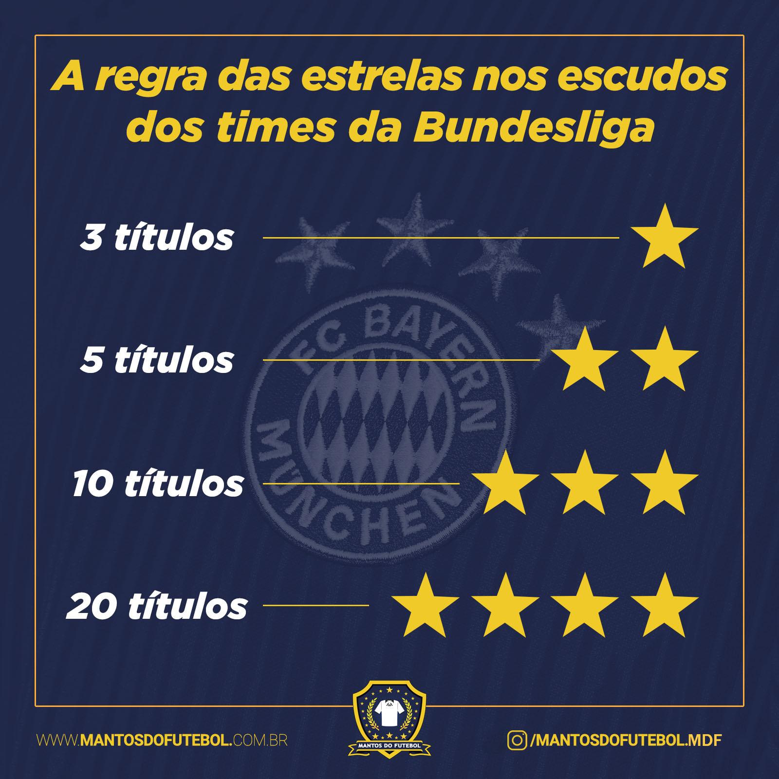 estrelas na camisa do futebol alemão regra