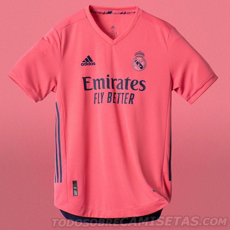 camisa Real Madrid 2020 away